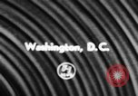 Image of helicopters Washington DC USA, 1957, second 1 stock footage video 65675071460