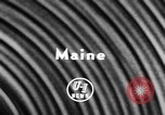 Image of Alewives Maine United States USA, 1957, second 2 stock footage video 65675071463