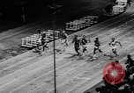 Image of track sports Compton California USA, 1957, second 10 stock footage video 65675071465
