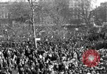 Image of British demonstrate against American involvement in Vietnam London England United Kingdom, 1968, second 6 stock footage video 65675071477