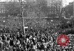 Image of British demonstrate against American involvement in Vietnam London England United Kingdom, 1968, second 7 stock footage video 65675071477