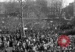 Image of British demonstrate against American involvement in Vietnam London England United Kingdom, 1968, second 8 stock footage video 65675071477