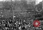 Image of British demonstrate against American involvement in Vietnam London England United Kingdom, 1968, second 9 stock footage video 65675071477