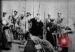 Image of fictional recreation of Mary Queen Scots death West Orange New Jersey USA, 1895, second 9 stock footage video 65675071506