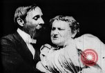 Image of May Irwin and John Rice Europe, 1896, second 2 stock footage video 65675071508