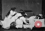 Image of Pillow fight West Orange New Jersey USA, 1897, second 2 stock footage video 65675071524