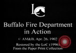 Image of Buffalo Fire Department Buffalo New York USA, 1897, second 4 stock footage video 65675071530