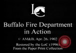 Image of Buffalo Fire Department Buffalo New York USA, 1897, second 6 stock footage video 65675071530