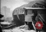 Image of Giant coal car dumper Cleveland Ohio USA, 1897, second 4 stock footage video 65675071531