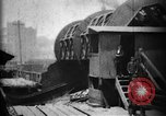Image of Giant coal car dumper Cleveland Ohio USA, 1897, second 5 stock footage video 65675071531