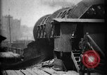 Image of Giant coal car dumper Cleveland Ohio USA, 1897, second 6 stock footage video 65675071531