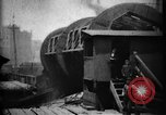 Image of Giant coal car dumper Cleveland Ohio USA, 1897, second 7 stock footage video 65675071531
