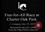 Image of harness pacing race Connecticut USA, 1897, second 5 stock footage video 65675071537