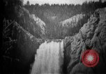 Image of Lower Falls Wyoming United States USA, 1897, second 8 stock footage video 65675071543