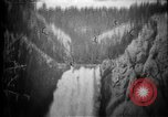 Image of Lower Falls Wyoming United States USA, 1897, second 10 stock footage video 65675071543