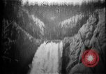 Image of Lower Falls Wyoming United States USA, 1897, second 12 stock footage video 65675071543
