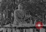 Image of German troops parade for Crown Prince Wilhelm Germany, 1933, second 9 stock footage video 65675071546