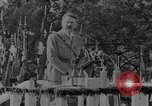 Image of German troops parade for Crown Prince Wilhelm Germany, 1933, second 12 stock footage video 65675071546