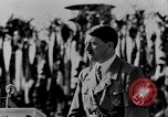 Image of Adolf Hitler giving impassioned speeches Germany, 1935, second 2 stock footage video 65675071547