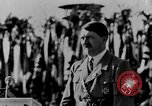 Image of Adolf Hitler giving impassioned speeches Germany, 1935, second 3 stock footage video 65675071547