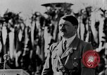 Image of Adolf Hitler giving impassioned speeches Germany, 1935, second 4 stock footage video 65675071547
