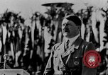 Image of Adolf Hitler giving impassioned speeches Germany, 1935, second 7 stock footage video 65675071547