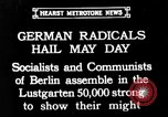 Image of socialists Berlin Germany, 1932, second 1 stock footage video 65675071549