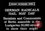 Image of socialists Berlin Germany, 1932, second 2 stock footage video 65675071549