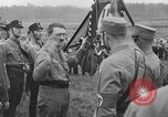 Image of Adolf Hitler in Nazi rally at Zeppelin Field in Nuremberg Germany, 1933, second 6 stock footage video 65675071551