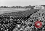Image of Adolf Hitler at rally with German Storm troopers Germany, 1933, second 2 stock footage video 65675071554