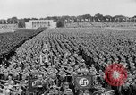 Image of Adolf Hitler at rally with German Storm troopers Germany, 1933, second 6 stock footage video 65675071554
