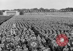 Image of Adolf Hitler at rally with German Storm troopers Germany, 1933, second 7 stock footage video 65675071554