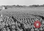 Image of Adolf Hitler at rally with German Storm troopers Germany, 1933, second 8 stock footage video 65675071554