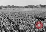 Image of Adolf Hitler at rally with German Storm troopers Germany, 1933, second 9 stock footage video 65675071554