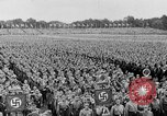 Image of Adolf Hitler at rally with German Storm troopers Germany, 1933, second 10 stock footage video 65675071554