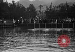 Image of swimming race Hawaii USA, 1916, second 5 stock footage video 65675071572