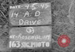 Image of 14th Armored Division Gemunden Germany, 1945, second 1 stock footage video 65675071594