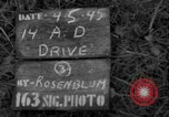 Image of 14th Armored Division Gemunden Germany, 1945, second 3 stock footage video 65675071594
