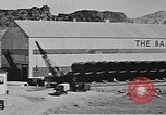 Image of Hoover Dam final phase of construction in 1935 Nevada United States USA, 1935, second 2 stock footage video 65675071604