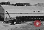 Image of Hoover Dam final phase of construction in 1935 Nevada United States USA, 1935, second 3 stock footage video 65675071604