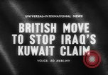 Image of British troops Kuwait, 1961, second 4 stock footage video 65675071616