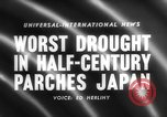 Image of drought Japan, 1958, second 1 stock footage video 65675071621