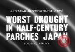 Image of drought Japan, 1958, second 2 stock footage video 65675071621