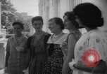 Image of Mamie Eisenhower with Latin American beauty queens Washington DC USA, 1958, second 12 stock footage video 65675071624