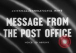 Image of Post Office Department United States USA, 1958, second 2 stock footage video 65675071627
