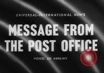 Image of Post Office Department United States USA, 1958, second 5 stock footage video 65675071627