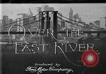 Image of Manhattan Bridge New York United States USA, 1919, second 1 stock footage video 65675071645