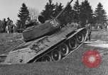 Image of American M-4 tank Liezen Austria, 1945, second 4 stock footage video 65675071653