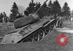 Image of American M-4 tank Liezen Austria, 1945, second 6 stock footage video 65675071653