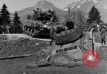 Image of American M-4 tank Liezen Austria, 1945, second 12 stock footage video 65675071653